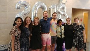Queer Grad and Professional Student Graduates 2018
