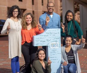 Carolina Grad Student Firsts and Carolina Firsts celebrating National First-Gen College Day